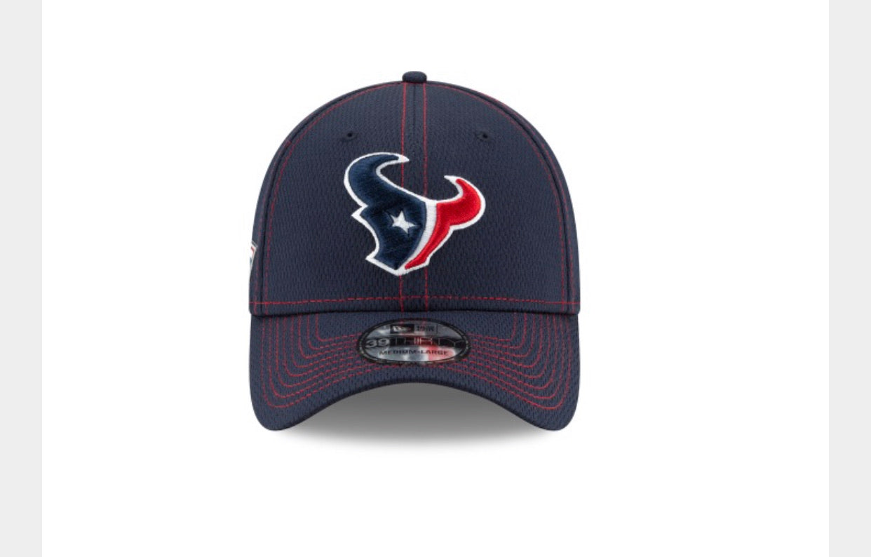 Houston Texans sideline blue hat - AtlanticCoastSports