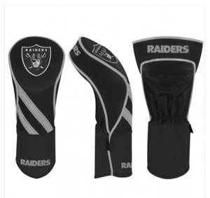 Las Vegas Raiders Golf Driver Headcover