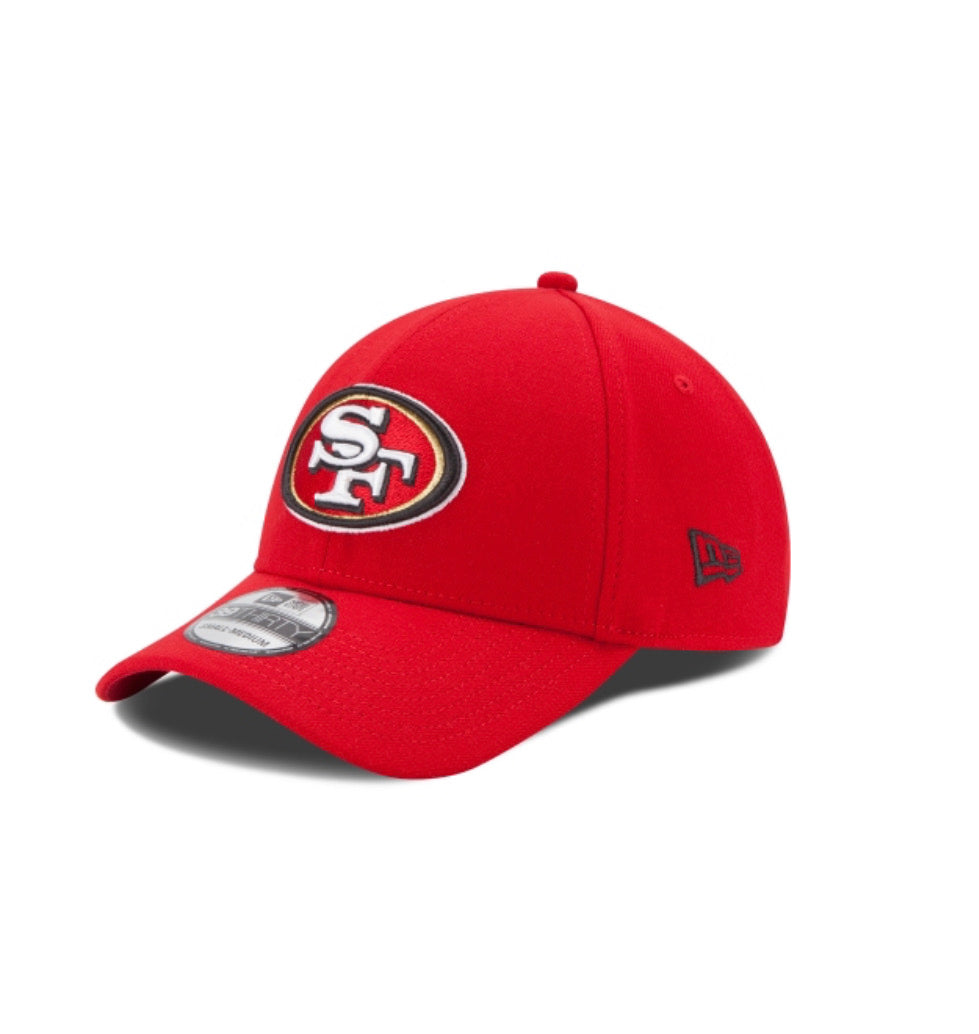 San Francisco 49ers New Era 3930 Kids Team Classic 39Thirty Stretch Fit - AtlanticCoastSports