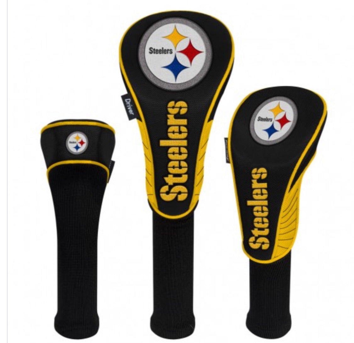 Pittsburgh Steelers HeadCovers Set of 3