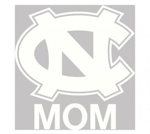 "NORTH CAROLINA, UNIVERSITY OF WINDOW DECALS 4"" X 6"" - AtlanticCoastSports"