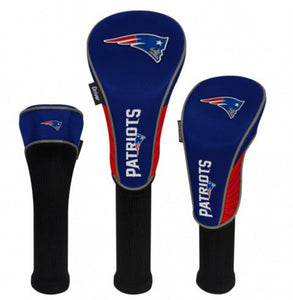 New England Patriots Set of 3 Headcovers