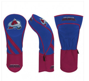 Colorado Avalanche Golf Driver Cover