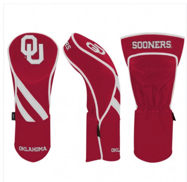 Oklahoma Sooners Golf Driver Cover