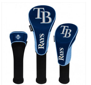 Tampa Bay Rays 3 Set Golf Headcovers
