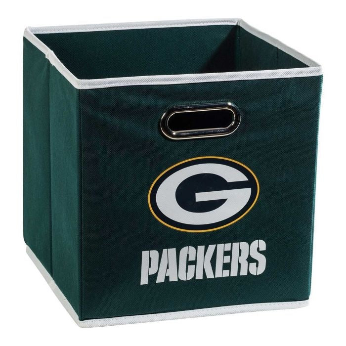 Green Bay Packets NFL® Collapsible Storage Bins