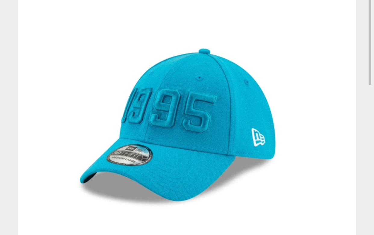 Carolina Panthers New Era Side Line Alt 3930 Cap - AtlanticCoastSports