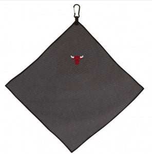"Chicago Bulls Microfiber Golf Towel 15"" X 15"""