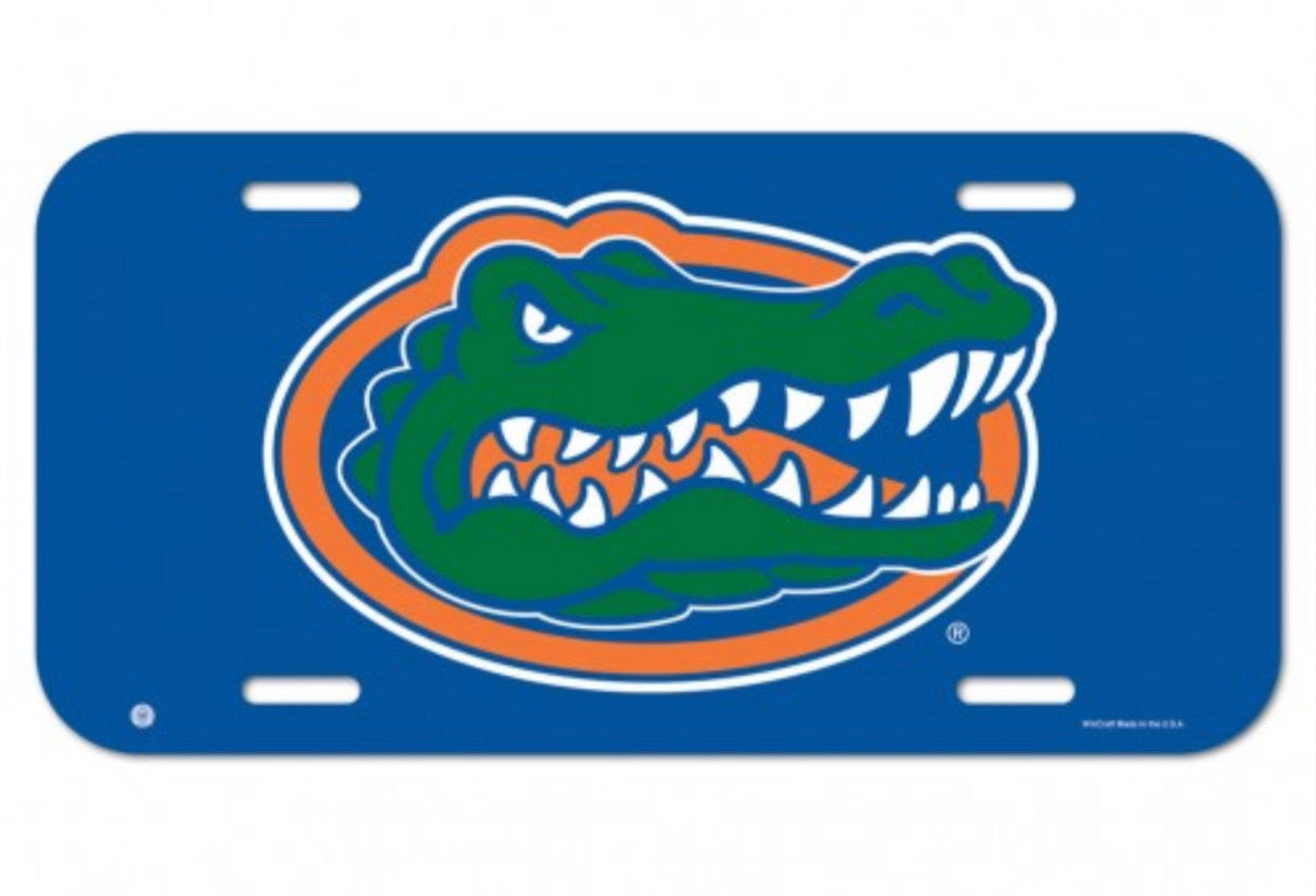 FLORIDA, UNIVERSITY OF LICENSE PLATE QUICK SHIP AVAILABLE - AtlanticCoastSports