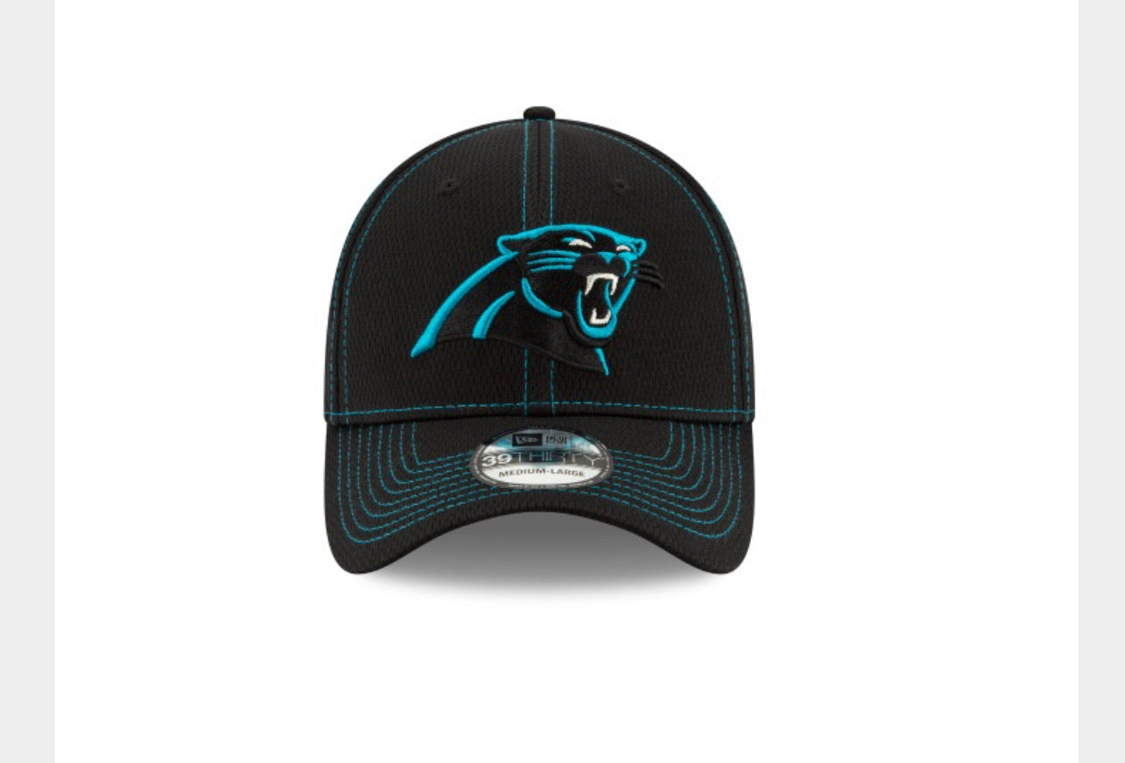 Carolina Panthers New Era Side Line Road 3930 Hat - AtlanticCoastSports