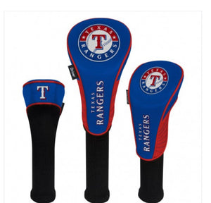 Texas Rangers Golf HeadCovers Set of 3