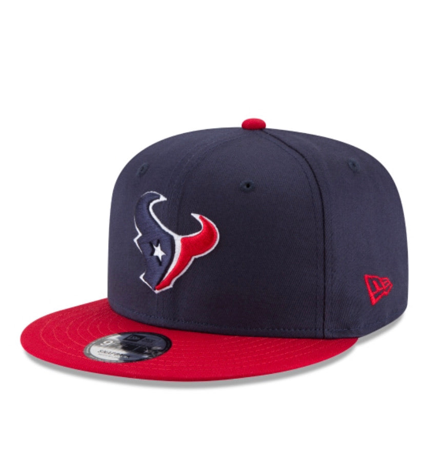 Houston Texans New Era Kids The League 950 Snap  Adjustable Hat - AtlanticCoastSports