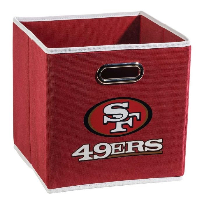 San Francisco 49ers NFL® Collapsible Storage Bins