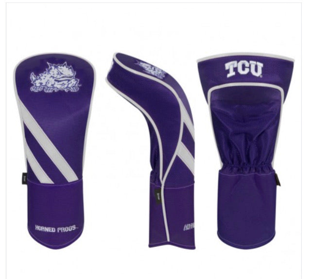 Texas Christian Horned Frogs Golf Driver Cover