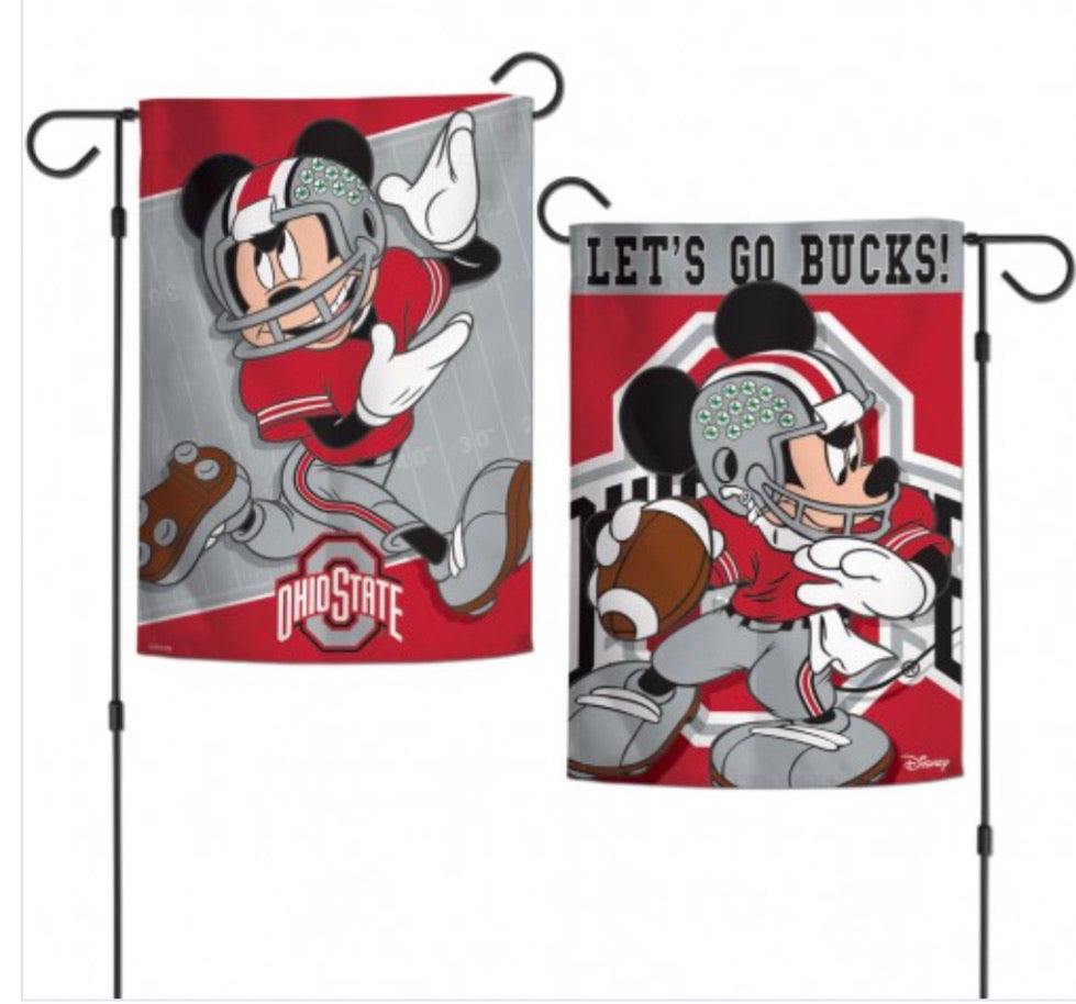 "Ohio State 2 SIded Garden Flag 12.5"" X 18"""