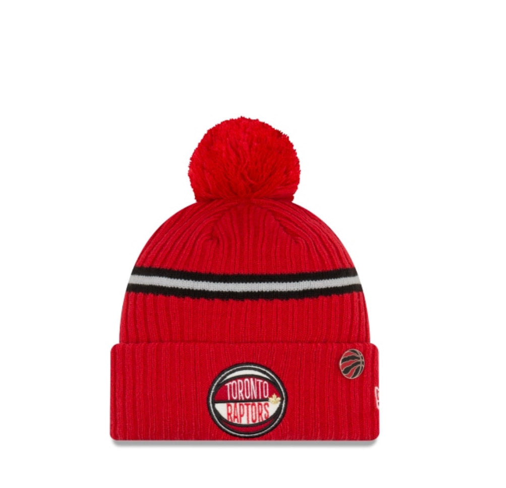 Toronto Raptors New Era Kids Knit Beanie