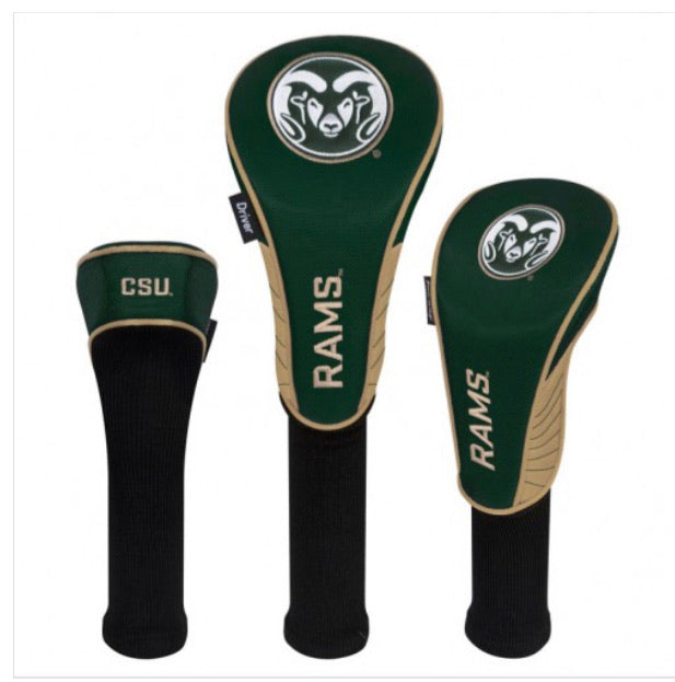 Colorado State Rams 3 Set golf Headcover