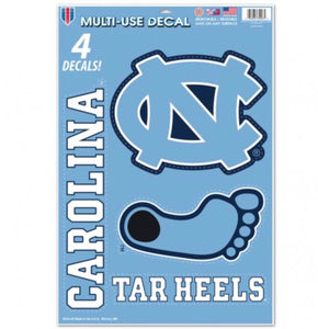 "NORTH CAROLINA, UNIVERSITY OF MULTI-USE DECAL 11"" X 17"" - AtlanticCoastSports"