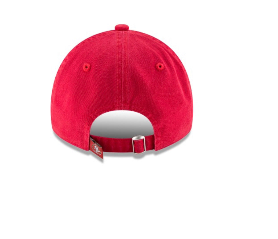 San Francisco 49Ers New Era Kids Core Classic 9Twenty Adjustable Hat - AtlanticCoastSports