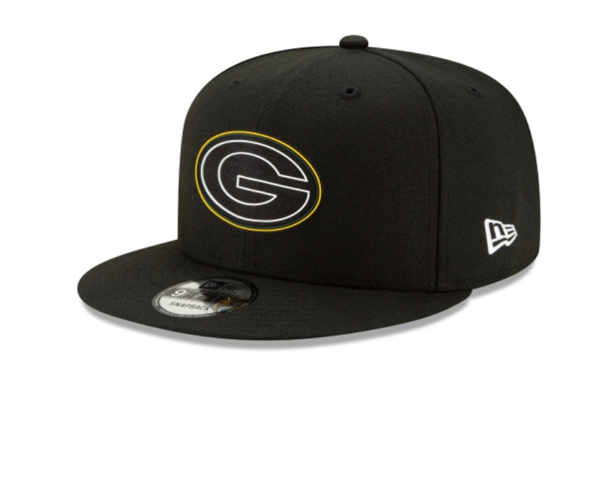 Green Bay Packers New Era Kids Official 9fifty Youth Adjustable Hat