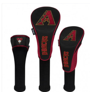 Arizona Diamondbacks Golf HeadCovers Set of 3