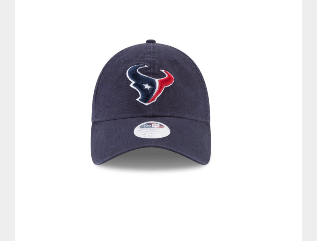 Houston Texans New Era Women The Core Classic 920 Adjustable hat - AtlanticCoastSports