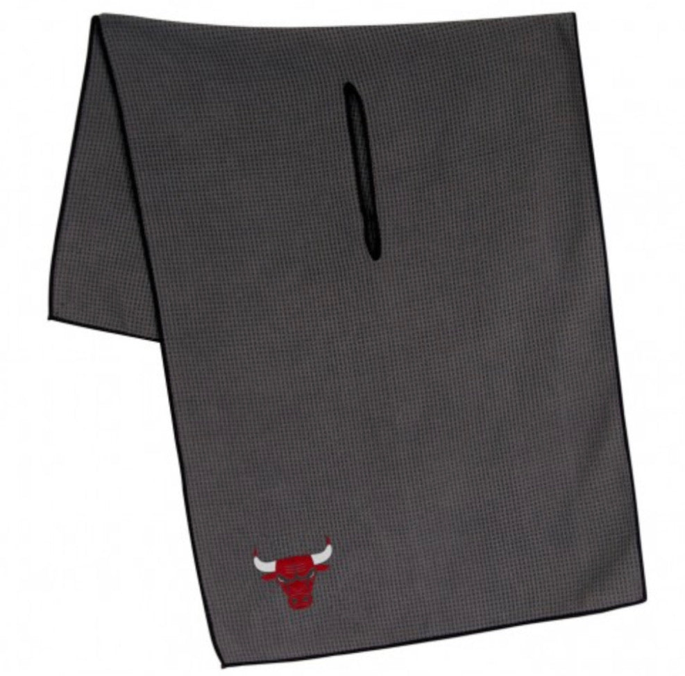 "Chicago Bulls Microfiber Golf Towel 19"" X 41"""