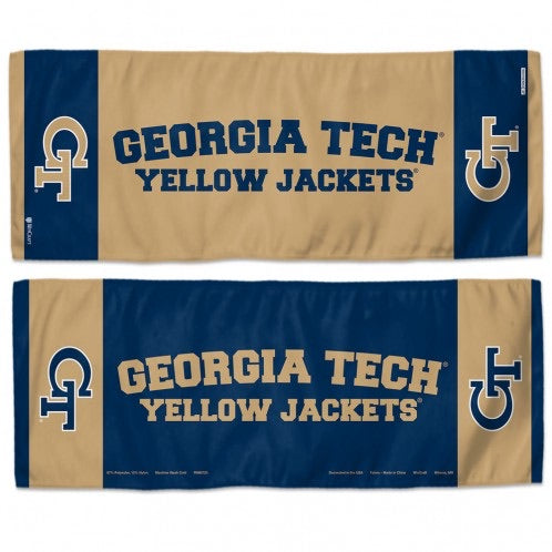 "George Tech Yellow Jackets Cooling Towel 12""X30"""