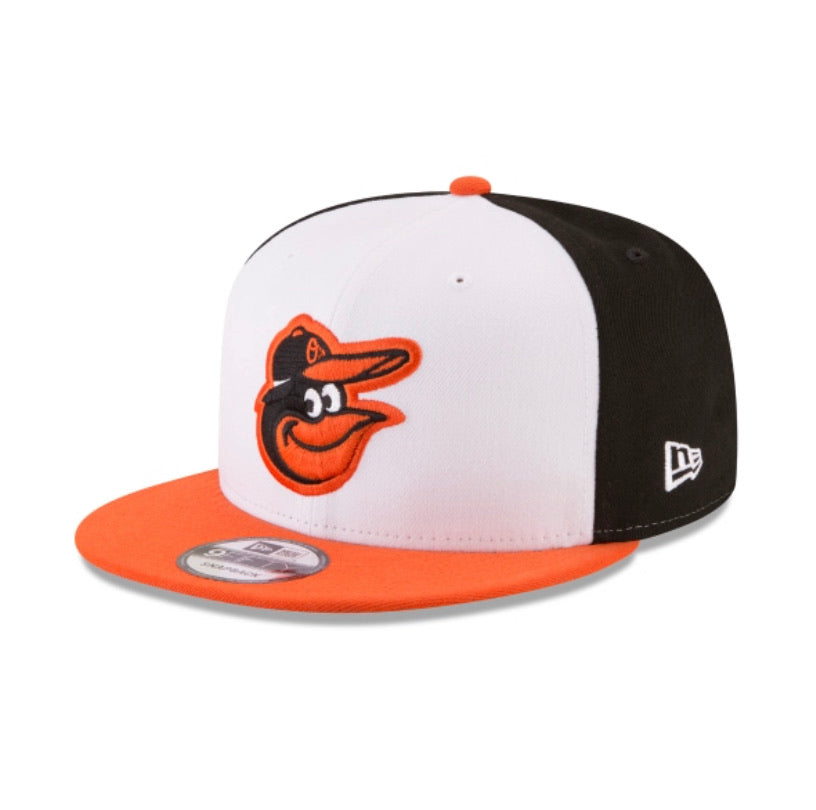 Baltimore Orioles New Era Kids Official 9fifty Youth Adjustable Hat