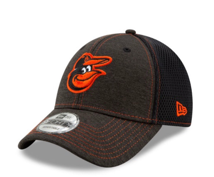 Baltimore Orioles New Era Kids 940 Team Tread Youth Adjustable Hat