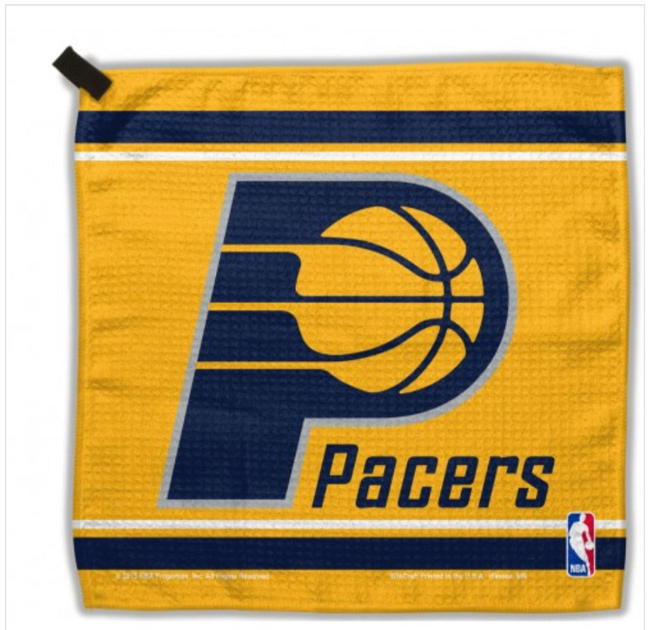 "Indiana Pacers Waffle Towel 13""X13"""