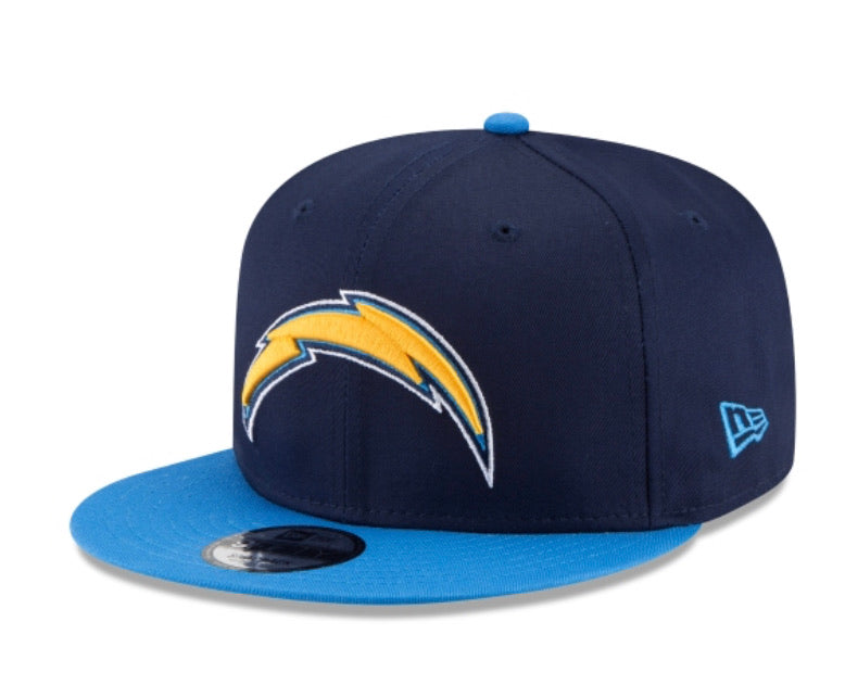 Los Angeles Chargers New Era Kids Official 9fifty Youth Adjustable Hat