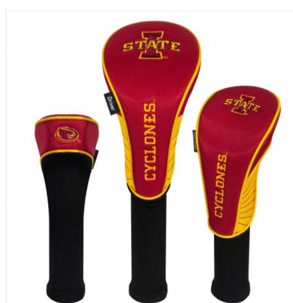 Iowa State Cyclones 3 Set Golf Headcover