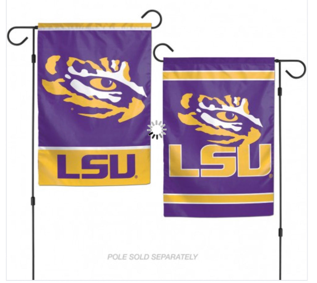 "LSU Garden Flag 2 Sided 12.5"" X 18"""