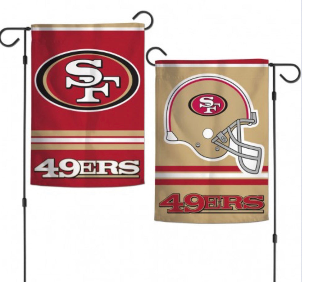 "San Francisco 2 Sided Garden Flag 12.5"" X 18"""
