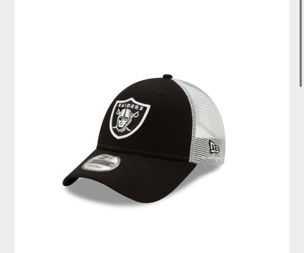 Las Vegas Raiders New Era Truckers Hat - AtlanticCoastSports