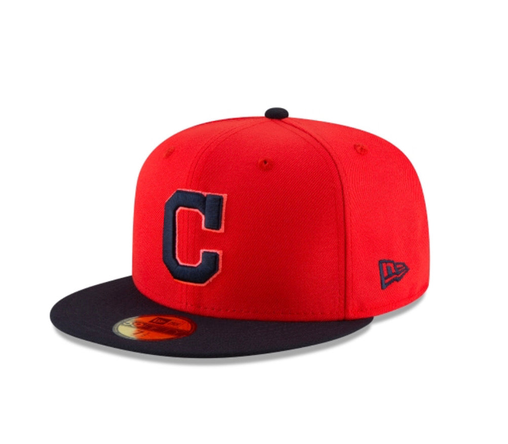 Cleveland Indians New Era Kids 5950 6 3/4 Weekend Hat