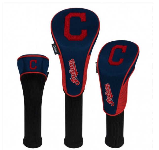 Cleveland Indians Headcovers Set of 3