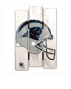 Carolina  Panthers Wood Fence Sign - AtlanticCoastSports