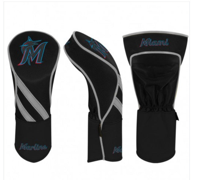 Miami Marlins Golf Driver Headcover