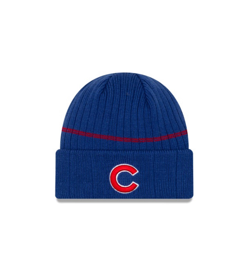 Chicago Cubs New Era Kids Sports Knit Beanie