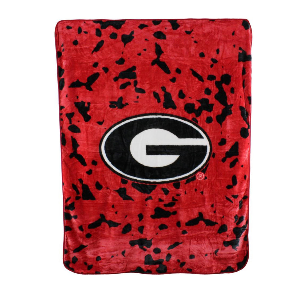 Georgia Bulldogs Throw Blanket