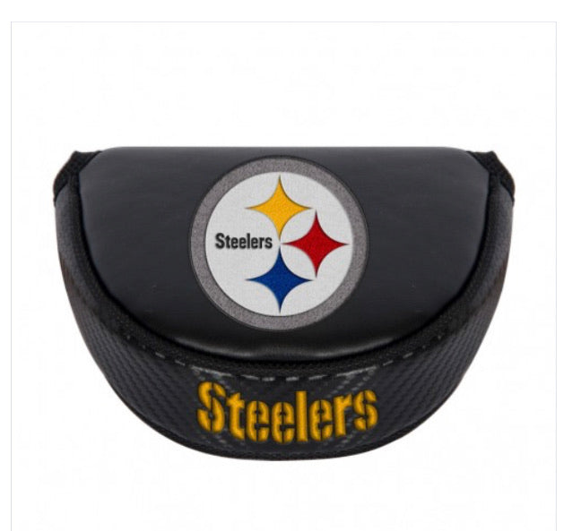Pittsburgh Steelers Golf Putter Mallet Head Cover