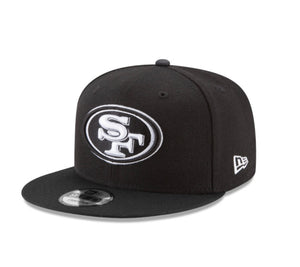 San Francisco 49ers New Era Nfl Basic 9Fifty Snapback Hat - AtlanticCoastSports