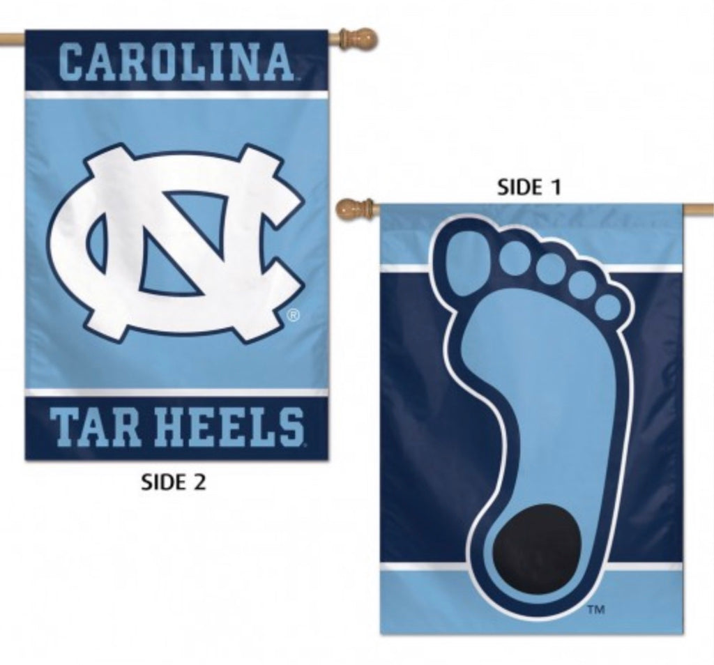 "NORTH CAROLINA, UNIVERSITY OF VERTICAL FLAG 2 SIDED 28"" X 40"" - AtlanticCoastSports"