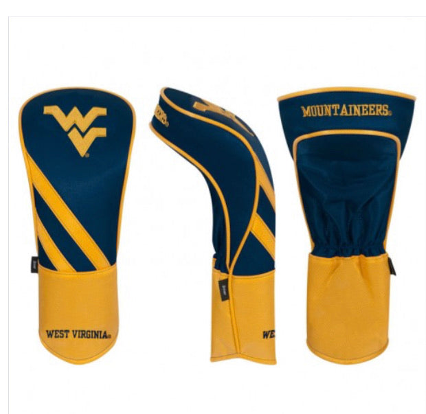 West Virginia Mountaineers Golf Driver Cover