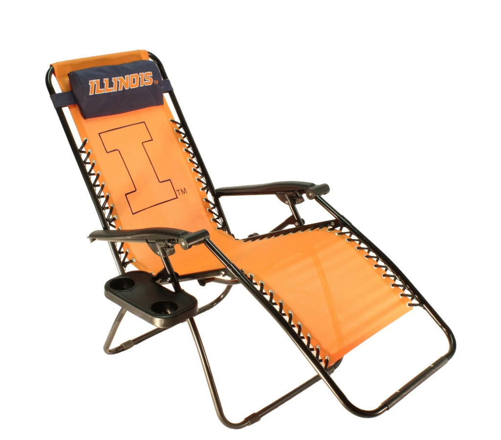 NCAA Illinois Fighting Illini Zero Gravity Chair
