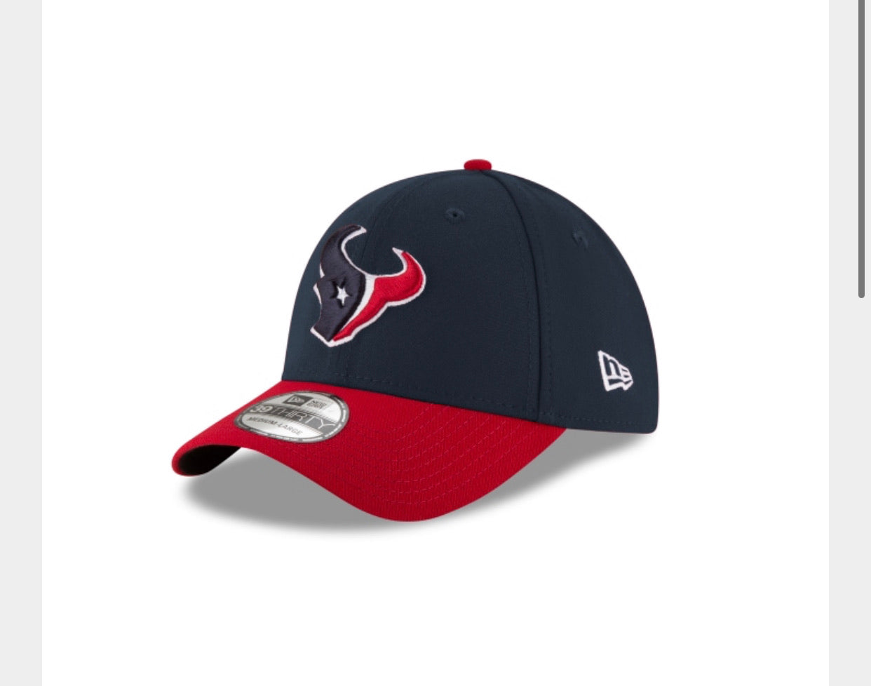 Houston Texans New Era CLASSIC Hat - AtlanticCoastSports