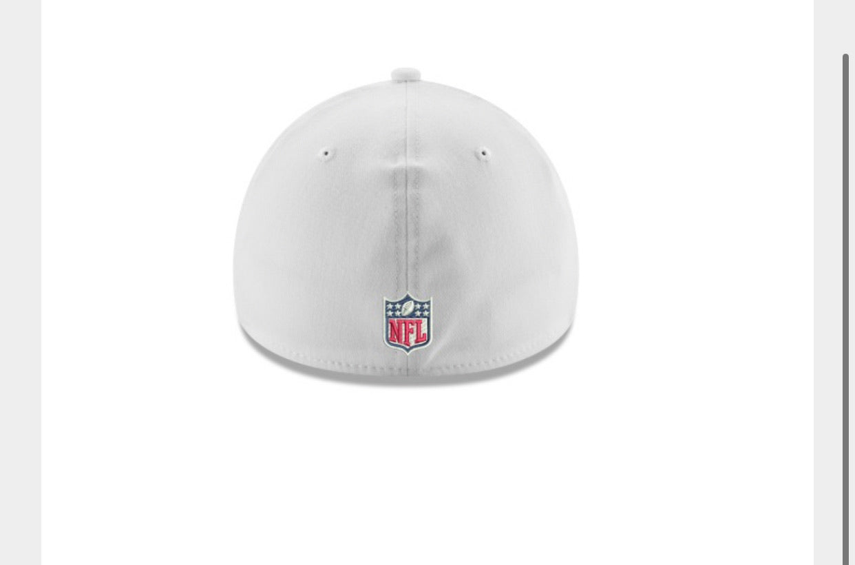 Houston Texans white tc hat - AtlanticCoastSports