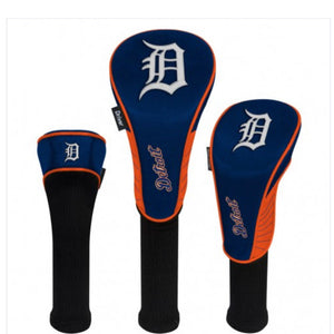 Detroit Tigers HeadCovers Set of 3
